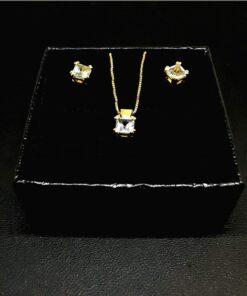 Χρυσό σετ κοσμημάτων BI0008
