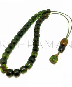 Κομπολόι διάφανο πράσινο φατουράν AL0034