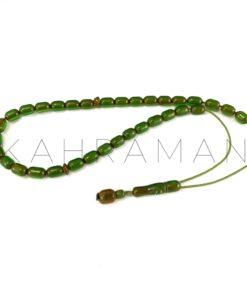 Κομπολόι διάφανο πράσινο φατουράν AL0037