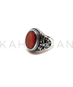 Ανδρικό δαχτυλίδι από ασήμι BA0111
