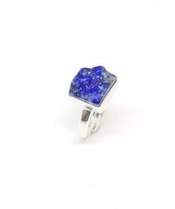 Χειροποίητο δαχτυλίδι με λάπις λάζουλι BA0170