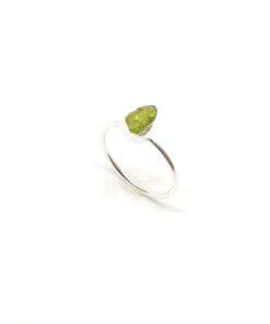 Χειροποίητο δαχτυλίδι με περίδοτο BA0176