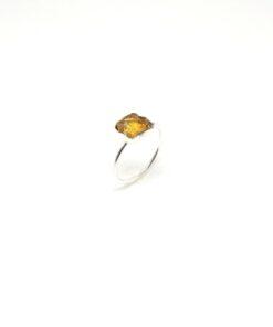 Χειροποίητο δαχτυλίδι με σιντρίν BA0178