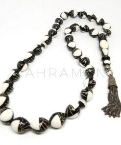 Κομπολόι προσευχής από έβενο με ελεφαντόδοντο AI0023